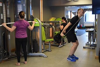Sävsjö Företagshälsovård Gym 01